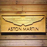 Aston Martin Wooden Sign - Small - SafeSpecial
