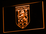 Aston Villa FC 2000-2007 Logo LED Neon Sign - Legacy Edition - Orange - SafeSpecial