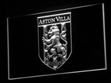 Aston Villa FC 2000-2007 Logo LED Neon Sign - Legacy Edition - White - SafeSpecial