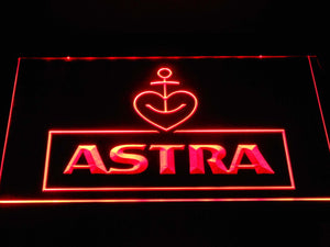Astra LED Neon Sign - Red - SafeSpecial