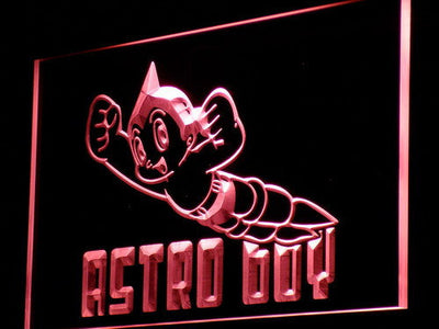 Astro Boy LED Neon Sign - Red - SafeSpecial