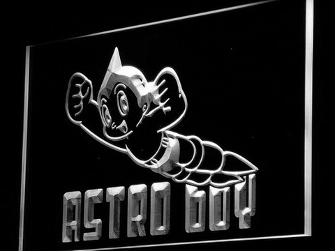 Image of Astro Boy LED Neon Sign - White - SafeSpecial