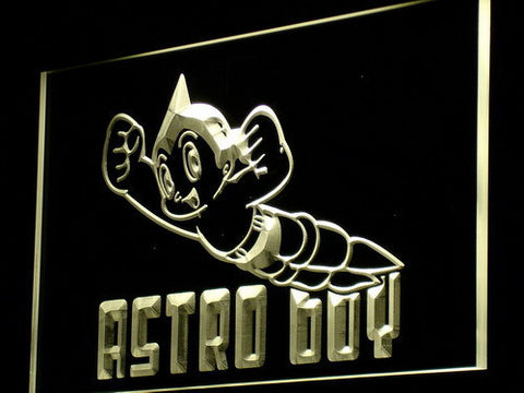 Image of Astro Boy LED Neon Sign - Yellow - SafeSpecial