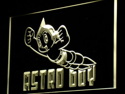 Astro Boy LED Neon Sign - Yellow - SafeSpecial