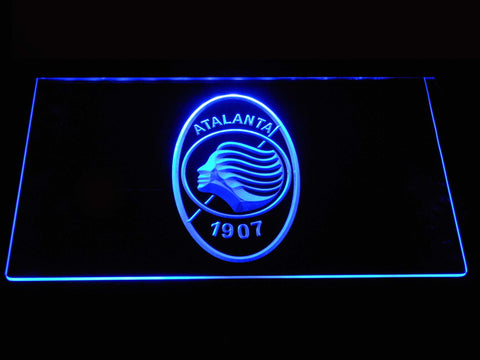 Atalanta B.C. LED Neon Sign - Blue - SafeSpecial