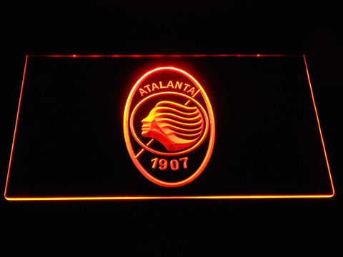 Atalanta B.C. LED Neon Sign - Orange - SafeSpecial