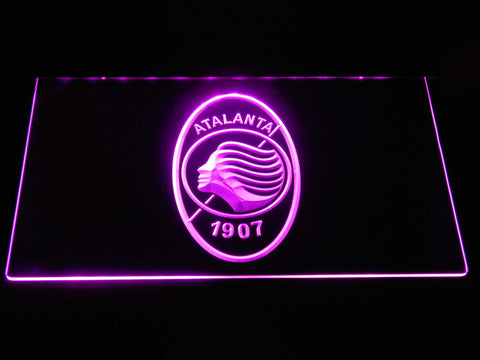 Atalanta B.C. LED Neon Sign - Purple - SafeSpecial