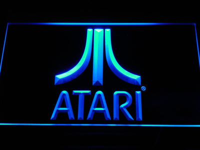 Atari LED Neon Sign - Blue - SafeSpecial
