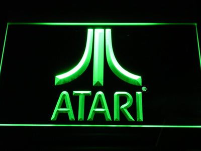 Atari LED Neon Sign - Green - SafeSpecial