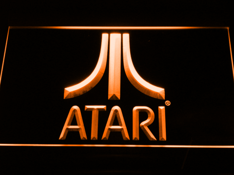 Atari LED Neon Sign - Orange - SafeSpecial