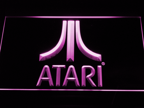 Atari LED Neon Sign - Purple - SafeSpecial