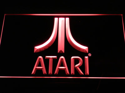 Atari LED Neon Sign - Red - SafeSpecial