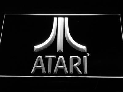 Atari LED Neon Sign - White - SafeSpecial