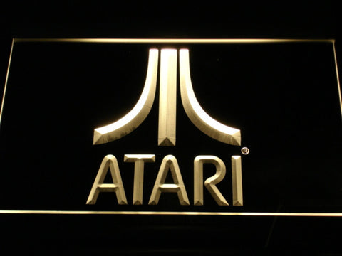 Image of Atari LED Neon Sign - Yellow - SafeSpecial