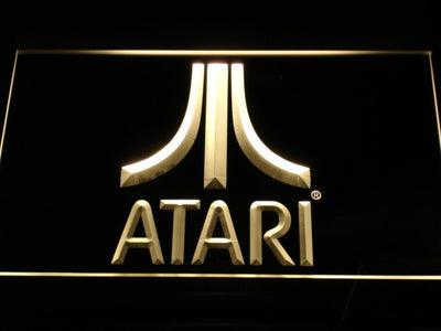 Atari LED Neon Sign - Yellow - SafeSpecial