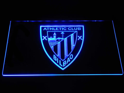 Athletic Bilbao LED Neon Sign - Blue - SafeSpecial