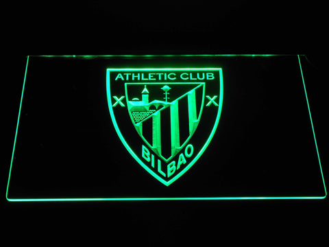 Athletic Bilbao LED Neon Sign - Green - SafeSpecial