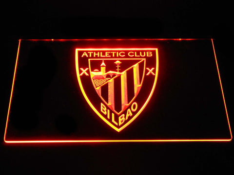 Athletic Bilbao LED Neon Sign - Orange - SafeSpecial