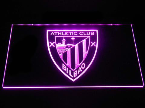 Athletic Bilbao LED Neon Sign - Purple - SafeSpecial