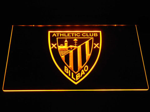 Athletic Bilbao LED Neon Sign - Yellow - SafeSpecial
