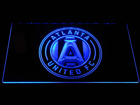 Image of Atlanta United FC LED Neon Sign - Blue - SafeSpecial