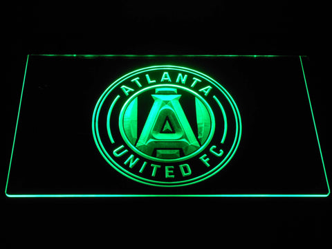Atlanta United FC LED Neon Sign - Green - SafeSpecial