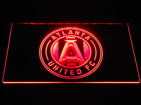 Atlanta United FC LED Neon Sign - Red - SafeSpecial