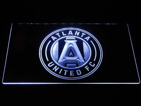 Atlanta United FC LED Neon Sign - White - SafeSpecial