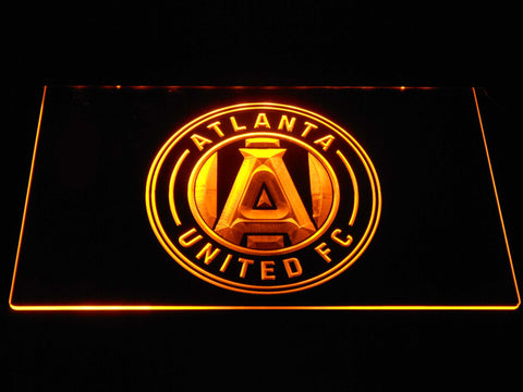 Atlanta United FC LED Neon Sign - Yellow - SafeSpecial