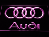 Audi LED Neon Sign - Purple - SafeSpecial