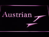 Austrian Airlines LED Neon Sign - Purple - SafeSpecial