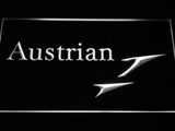 Austrian Airlines LED Neon Sign - White - SafeSpecial
