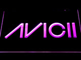 Avicii LED Neon Sign - Purple - SafeSpecial