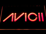 Avicii LED Neon Sign - Red - SafeSpecial