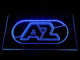 AZ Alkmaar Zaanstreek LED Neon Sign - Blue - SafeSpecial