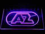 AZ Alkmaar Zaanstreek LED Neon Sign - Purple - SafeSpecial