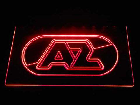 AZ Alkmaar Zaanstreek LED Neon Sign - Red - SafeSpecial