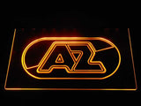 AZ Alkmaar Zaanstreek LED Neon Sign - Yellow - SafeSpecial