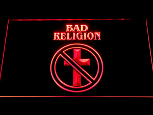 Bad Religion LED Neon Sign - Red - SafeSpecial
