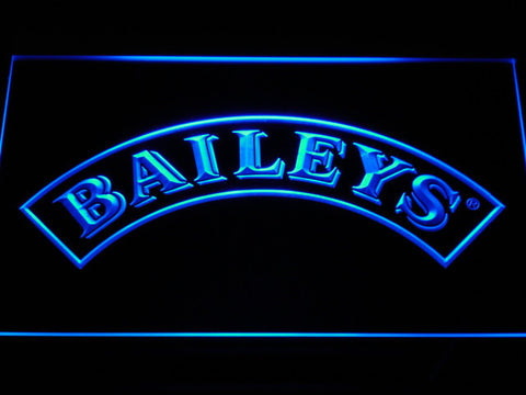 Baileys LED Neon Sign - Blue - SafeSpecial