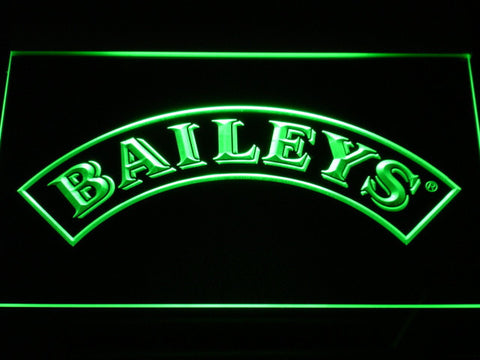 Baileys LED Neon Sign - Green - SafeSpecial