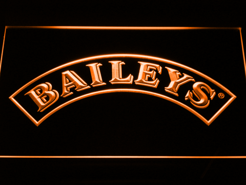 Baileys LED Neon Sign - Orange - SafeSpecial