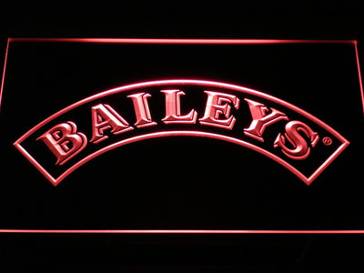 Baileys LED Neon Sign - Red - SafeSpecial