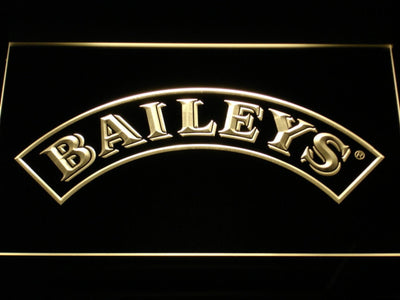 Baileys LED Neon Sign - Yellow - SafeSpecial