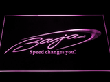 Baja LED Neon Sign - Purple - SafeSpecial