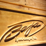 Baja Wooden Sign - - SafeSpecial