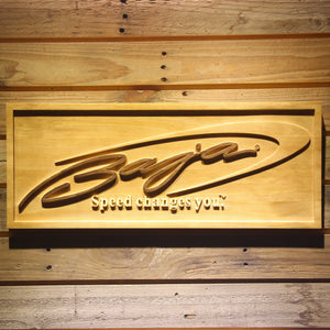 Baja Wooden Sign - Small - SafeSpecial