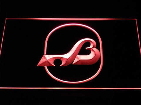 Baltimore Blades Logo LED Neon Sign - Legacy Edition - Red - SafeSpecial