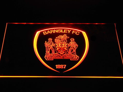 Barnsley F.C. LED Neon Sign - Orange - SafeSpecial
