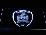 Barnsley F.C. LED Neon Sign - White - SafeSpecial